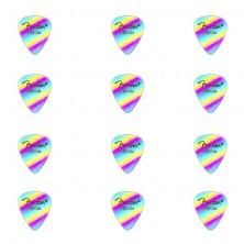 Fender Rainbow Medium Celluloid 12Pk