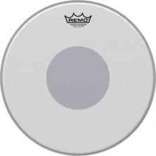 Remo Be-0114-10 Emperor Coated Bottom Black Dot