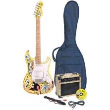 Pack Guitarra El?ctrica Bob Esponja Sbeoft