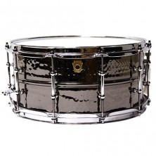 "Ludwig Lb417Kt 14""X6,5"" Black Beauty Hand Hammered Laton"