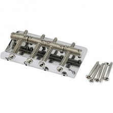 Fender Pure Vintage Bass Bridge Assembly Nickel/Chrome