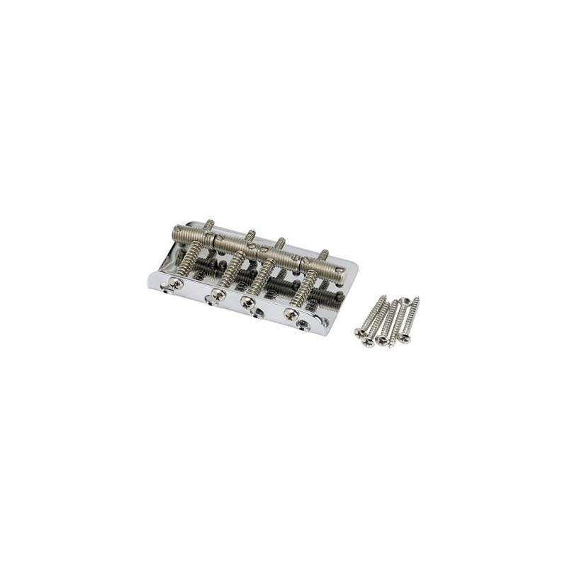 Fender Pure Vintage Bass Bridge Assembly Nickel/Chrome