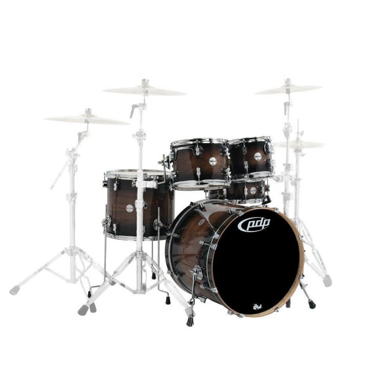 Pdp Concept Exotic Charcoal Burst 22""