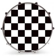 Evans 22 Inked Graphics White Checker