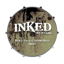 Evans 20 Inked Custom