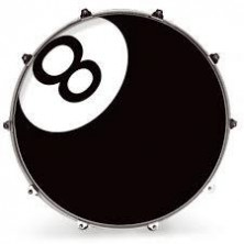 Evans 20 Inked Graphics 8 Ball