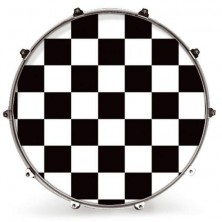 Evans 20 Inked Graphics White Checker