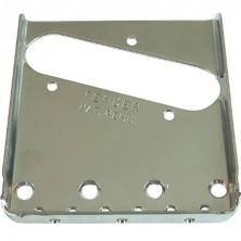 Fender Placa Del Puente Vintage Tele Chrome