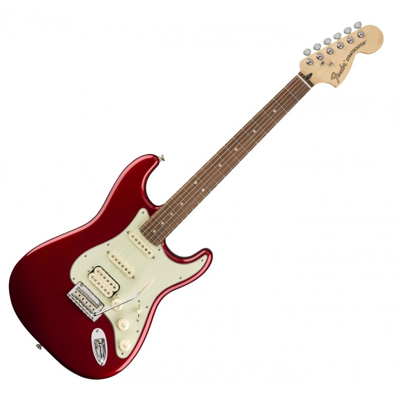 Fender Deluxe Stratocaster Hss Pf-Car