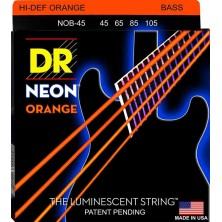 DR Strings NOB-45 Neon Orange
