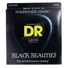 DR Strings BKB-45 Black Beauties