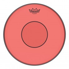 Remo P7-0313-CT-RD Colortone Powerstroke 77 Clear Red