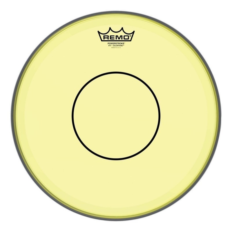 Remo P7-0314-CT-YE Colortone Powerstroke 77 Clear Yellow