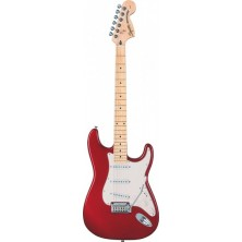 Squier Standard Stratocaster Maple Candy Apple Red