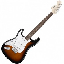 Squier Stratocaster Affinity Left Hand Zurdo Brown Sunburst
