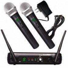 EK Audio WR-25D UHF Doble