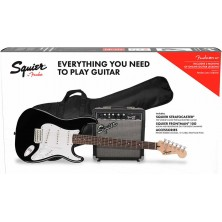 Squier Stratocaster Pack BLK