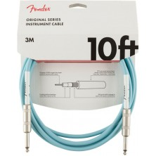Fender Original Series Instrument Cable 3m Daphne Blue