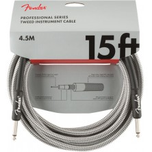 Fender Professional Series Instrument Cable 4,5m White Tweed