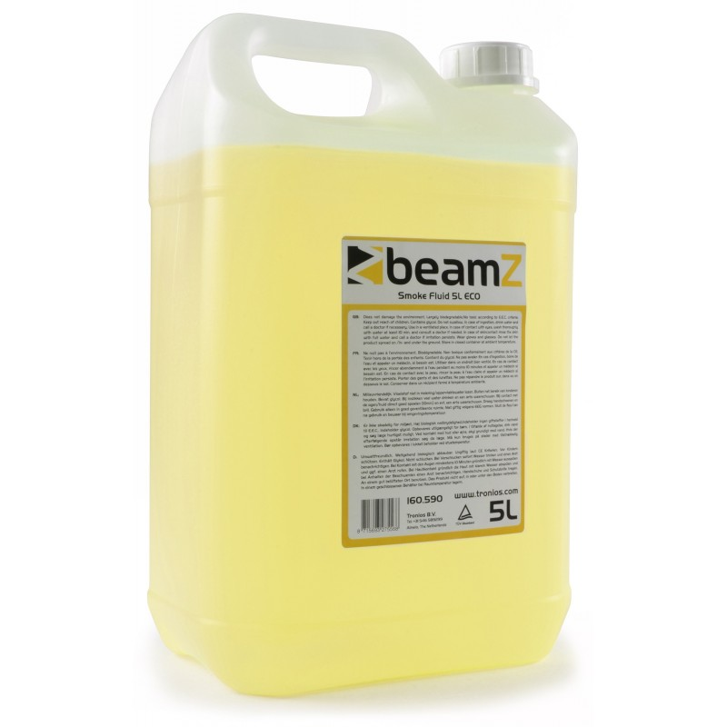 Beamz Smokefluid Eco Light Yellow 5 Litros