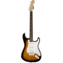 Squier Stratocaster Bullet With Tremolo Brown Sunburst