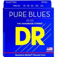 DR Strings PB5-45 Pure-Blues