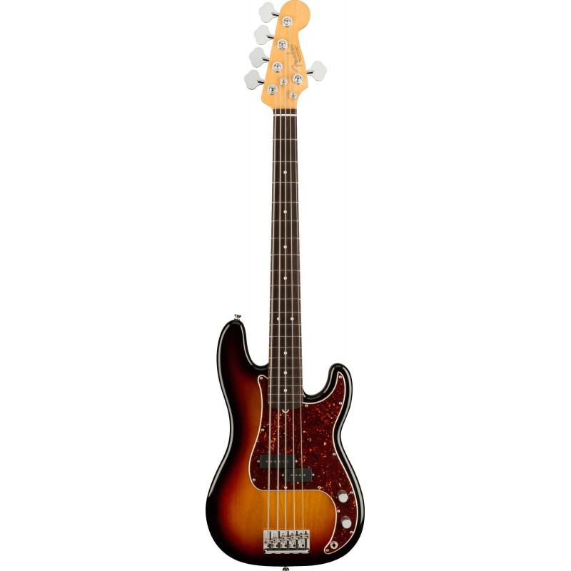 Fender AM Pro II Precision Bass V RW 3TSB