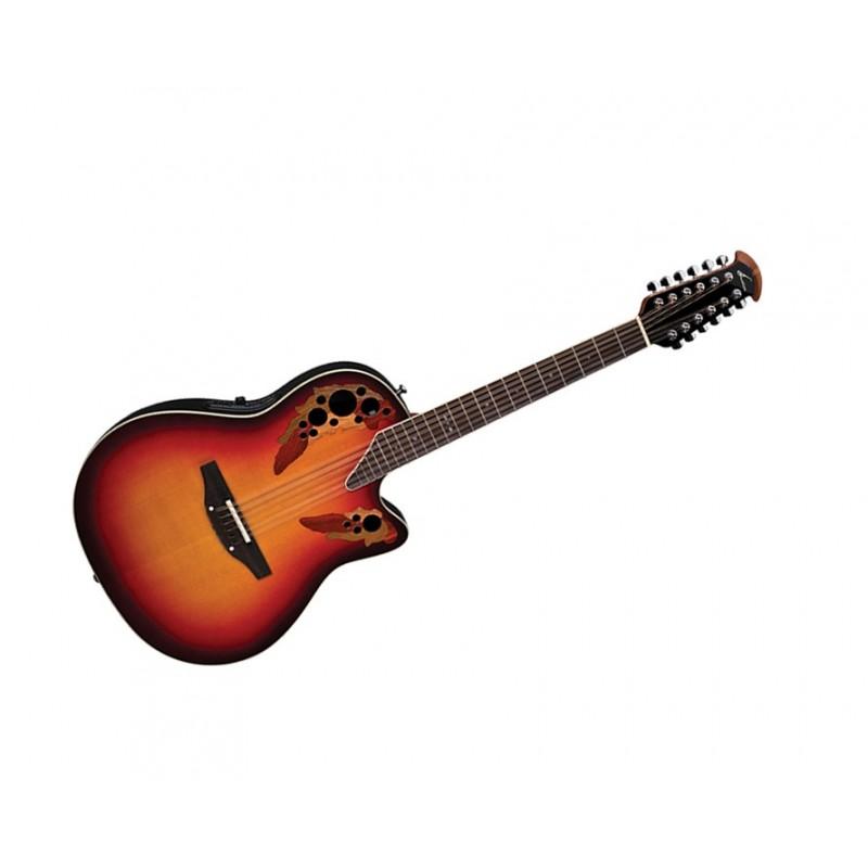 Acoustic Electric Guitars Ovation Estándar Elite 2758ax-neb 12-cuerdas Guitarra Electro-acústica Guitarra Special Summer Sale