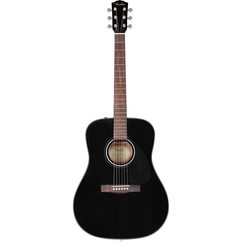 Fender CD-60 V3 BLK WN with CASE