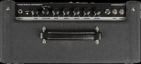 Fender Bassbreaker 15 (controles)