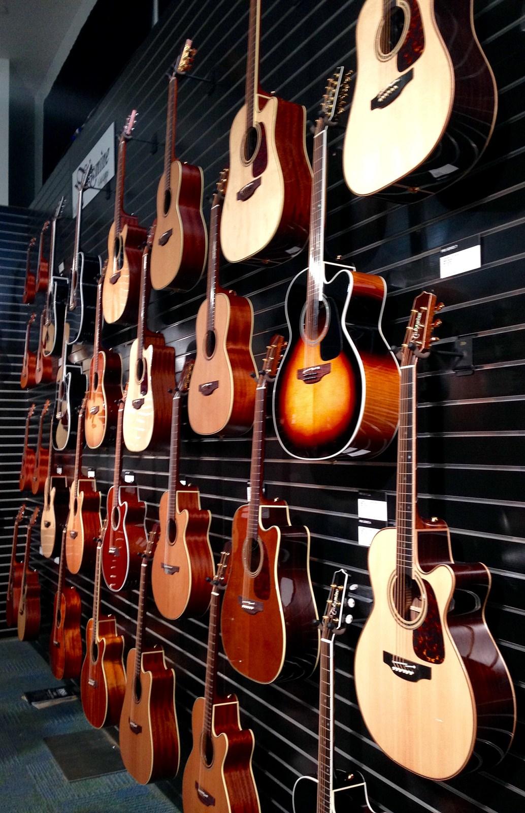 Guitarras acústicas en el NAMM Show