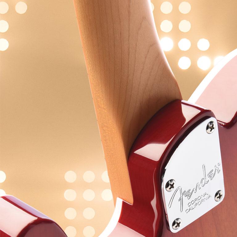Talón del mástil de Fender American Elite Series