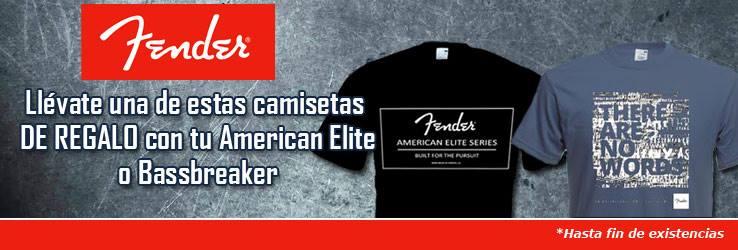 Regalo de camisetas Fender
