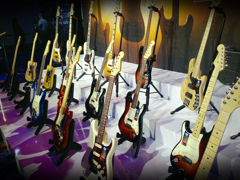 Fender 2016 American Elite Series en el NAMM Show