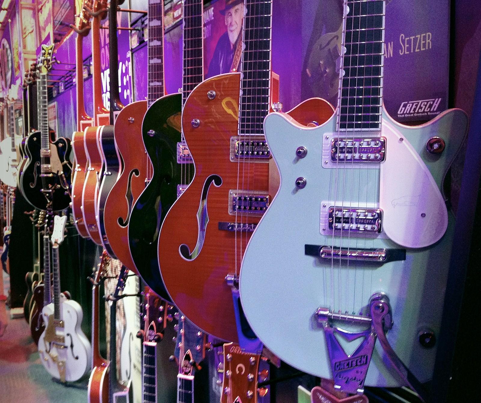 Guitarras Gretsch en el NAMM Show