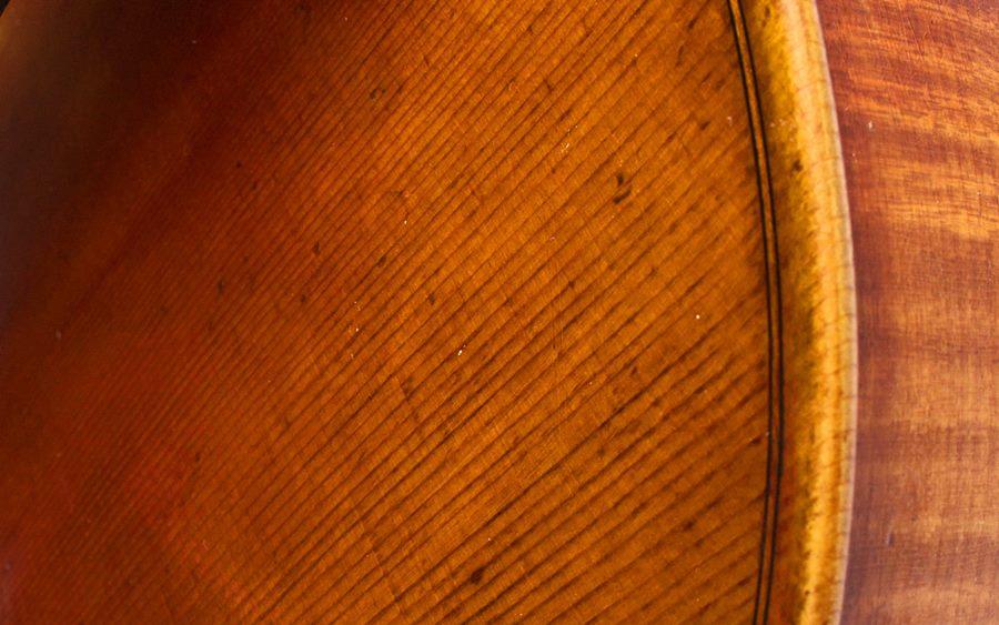 Madera de los violines