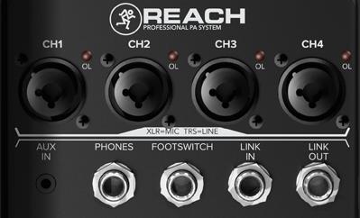 Panel de conexión de Mackie Reach