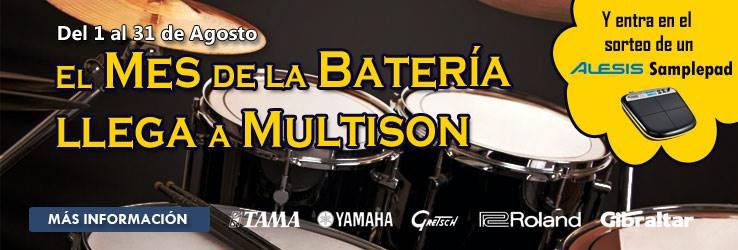 El mes de la batería llega a Multison