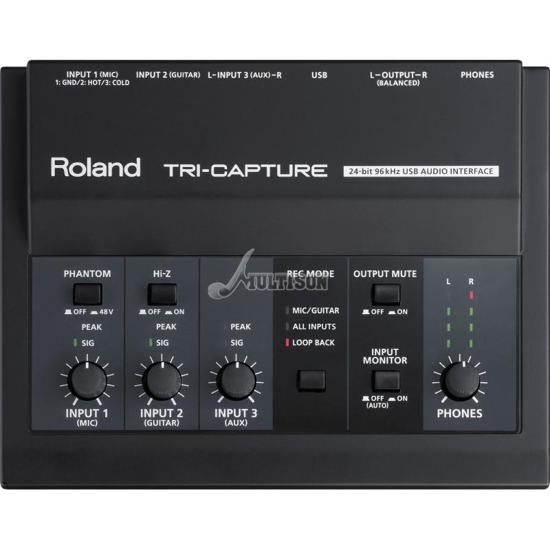 Roland UA-33 Tri Capture