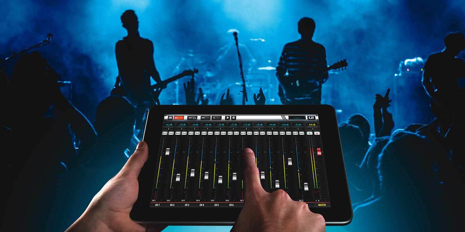 Control de la mesa de mezclas desde un iPad