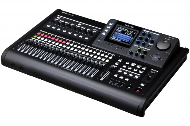 Tascam DP-24SD (vista general)