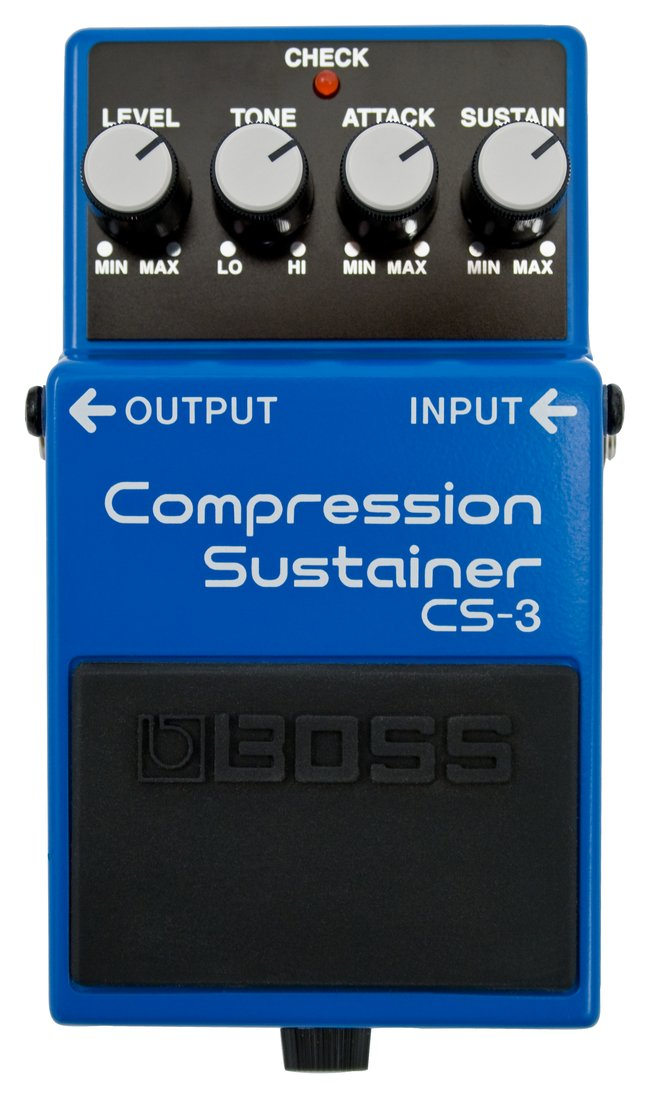 Pedal compresor para guitarra Boss CS-3 Compression Sustainer