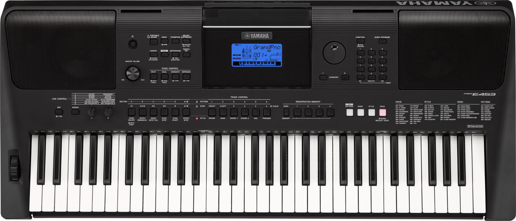 Yamaha PSR E-453