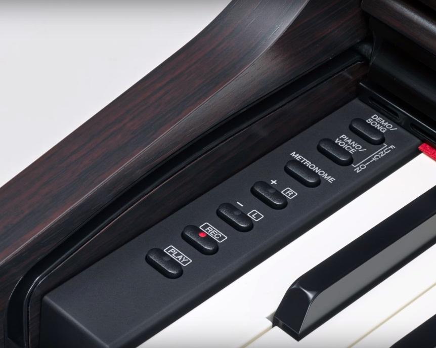 Controles de los pianos Yamaha YDP