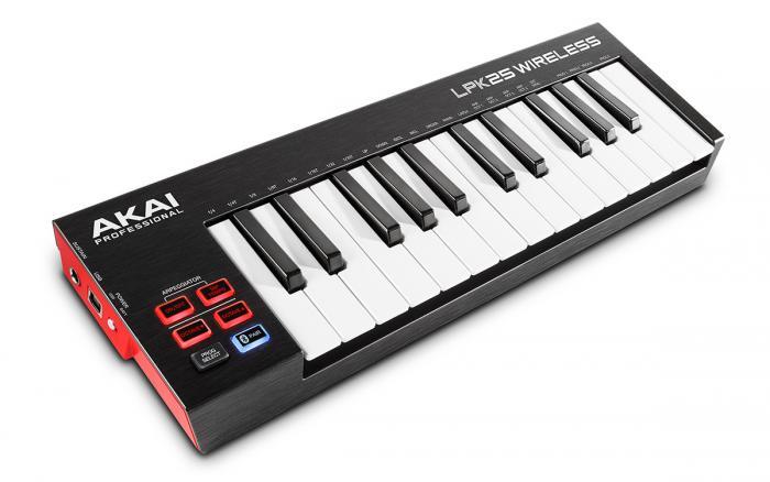 Controlador MIDI inalámbrico AKAI LPK25 Wireless en Multison