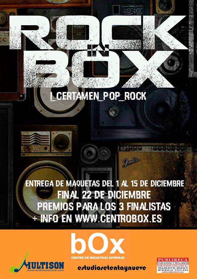 "I CERTAMEN POP ROCK ""ROCK IN BOX"""