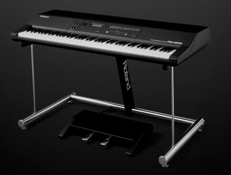 Piano de escenario Roland RD-2000 presentado en NAMM 2017