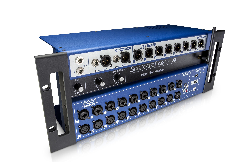 Soundcraft Ui24R - Mesa de mezclas digital y grabadora multipista