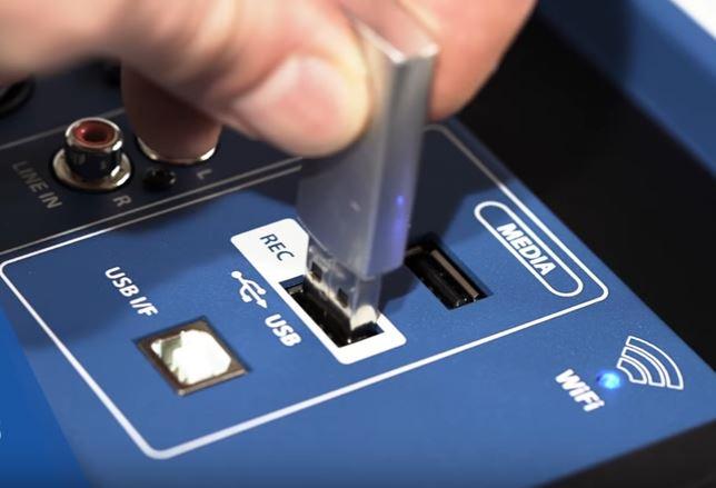 Grabación USB de Soundcraft Ui24R