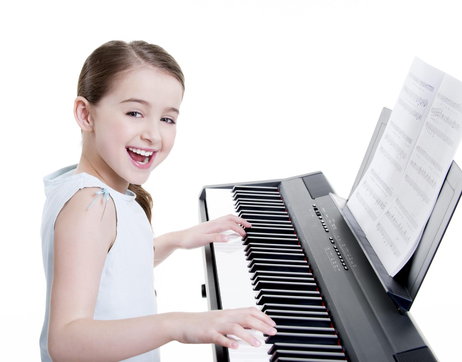 Teclados musicales para niños